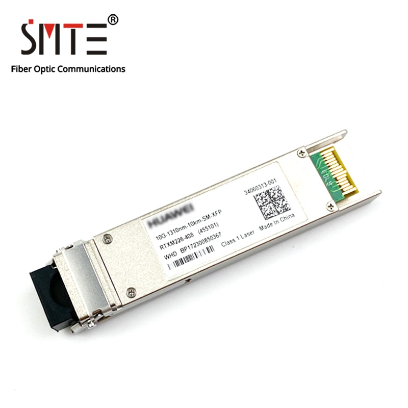 الأب RTXM226-408 10G-1310nm-10km-SM-XFP LR الألياف البصرية وحدة