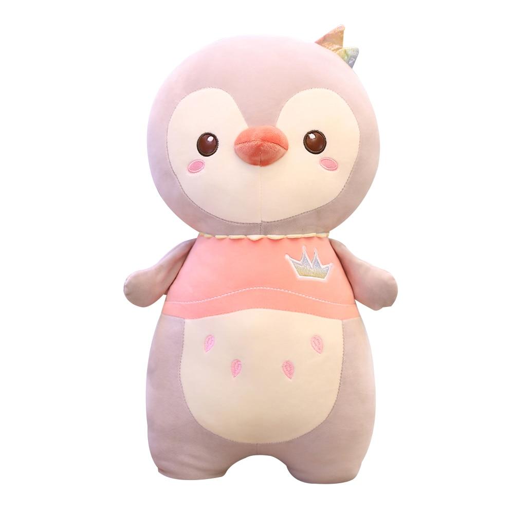 Новинка милый пингвин плюшевые игрушки мягкие Мультяшные животные пингвин кукла для девочек Успокаивающая игрушка для детей подарок на де...