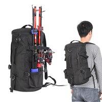 Рюкзак с внешним креплением для удилищ, объем 23 литра.