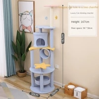 cat furniture tower ladder playground shelves pet products cat tree tower condo cat house tree wooden cat house