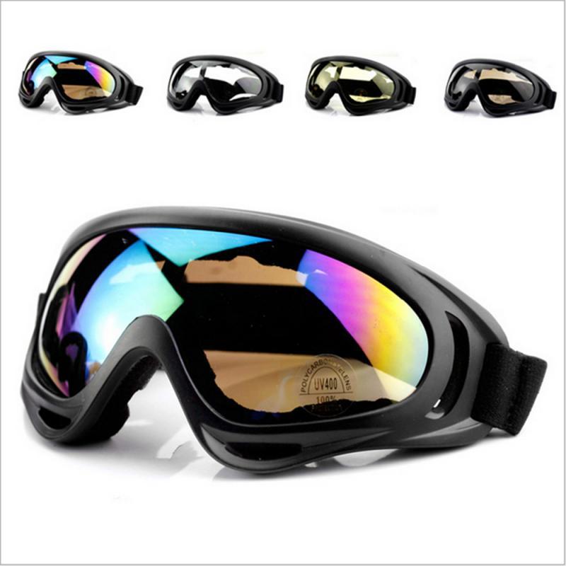Лыжный Спорт Сноубординг очки двойные слои Анти-туман УФ велосипедные очки для катания на лыжах и солнцезащитные очки для женщин езда на ве...