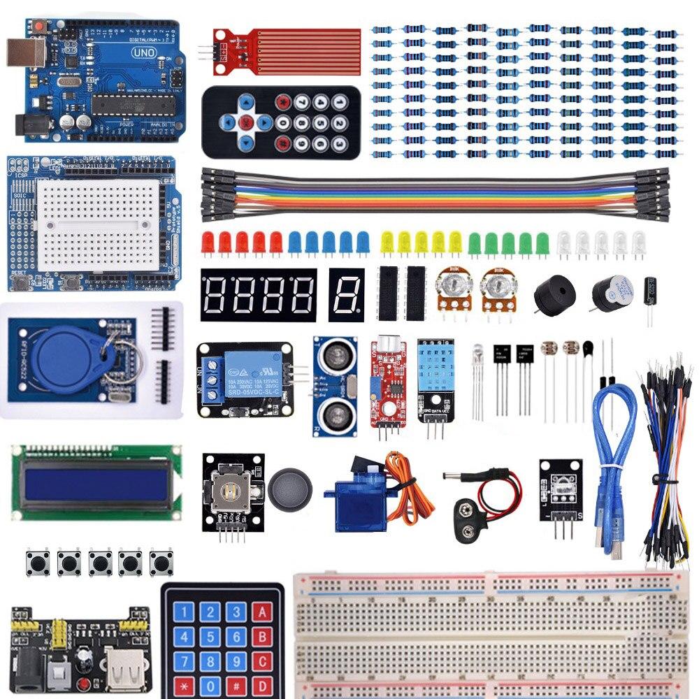 Стартовый набор для Arduino Uno R3-макетная �