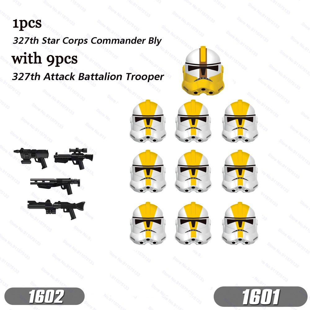 star wars series action figure stormtrooper model storm cavalry star wars building blocks blocks lepinblocks kids toys gift toys 10pcs/lot Commander Bly with Clone 327th Star Corps Troopers Building Blocks Bricks Star Action Figure Wars Toys Kids Gifts