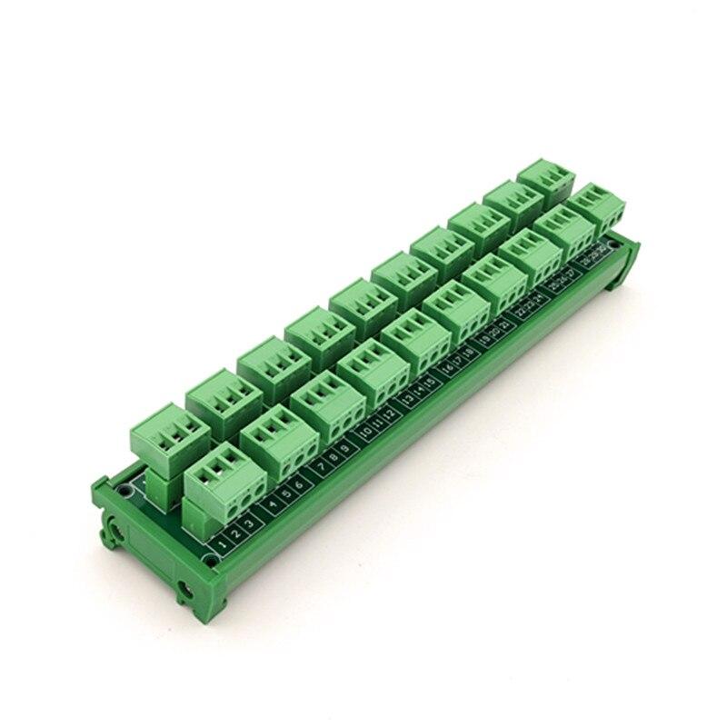 كتلة طرفية لولبية DIN 15a/300V 10x3 ، وحدة التوزيع