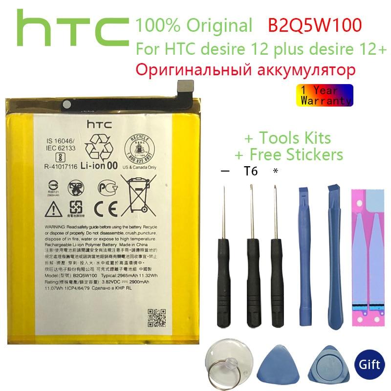 Batería Original HTC desire 12 plus, 2965mah, 12 + B2Q5W100, herramientas gratuitas