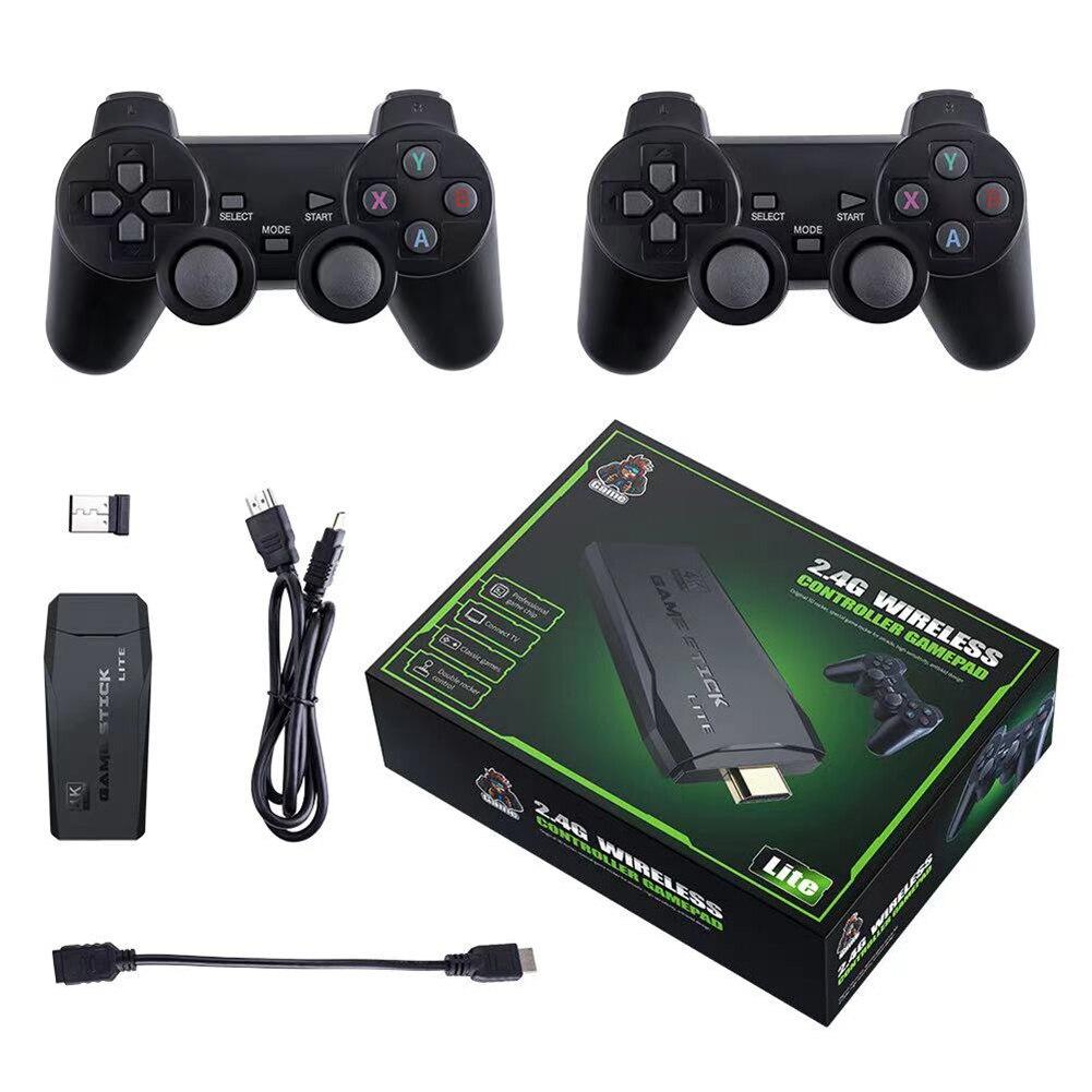 M8 TV لعبة فيديو وحدة التحكم HDMI متوافق إخراج لعبة صغيرة الرجعية وحدة التحكم مع 2 وحدات تحكم لاسلكية ل MAME FC GB MD SFC