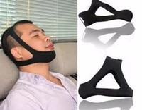 triangle anti snore headband stop snoring snore stopper chin strap dislocated jaw snoring resistance band