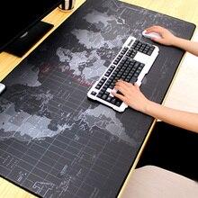 Grand tapis de souris tapis de souris de jeu Gamer grand tapis de souris ordinateur tapis de souris Mause clavier tapis de bureau pour ordinateur portable