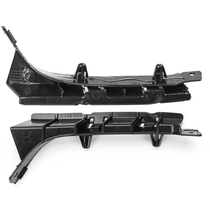 Soporte de barra de soporte para parachoques derecho izquierdo delantero de coche guía 51117116668 51117116667 para BMW X5 E53 2003 2004 2005 2006