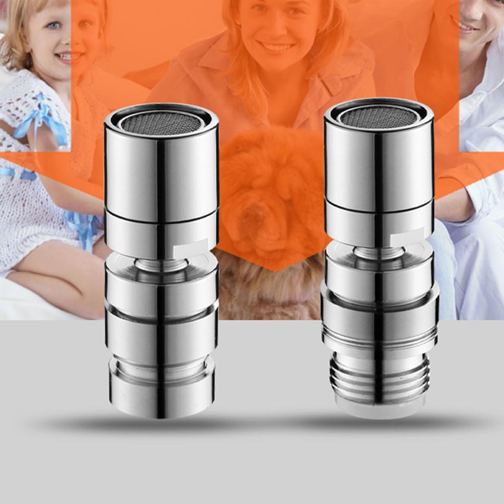 Аэратор для крана, насадка для крана, барботер, фильтр для экономии воды, поток 360 2, разъем для крана с защитой от брызг, большой угол