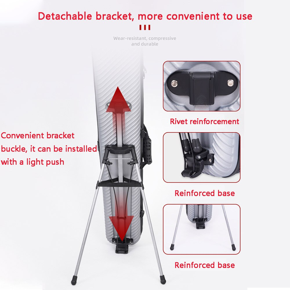 125CM Portable Fishing Rod Bag Multifunction Waterproof Fishing Gear Bag ABS Hard Shell Fishing Bag Shockproof Fishing Reel Bag enlarge