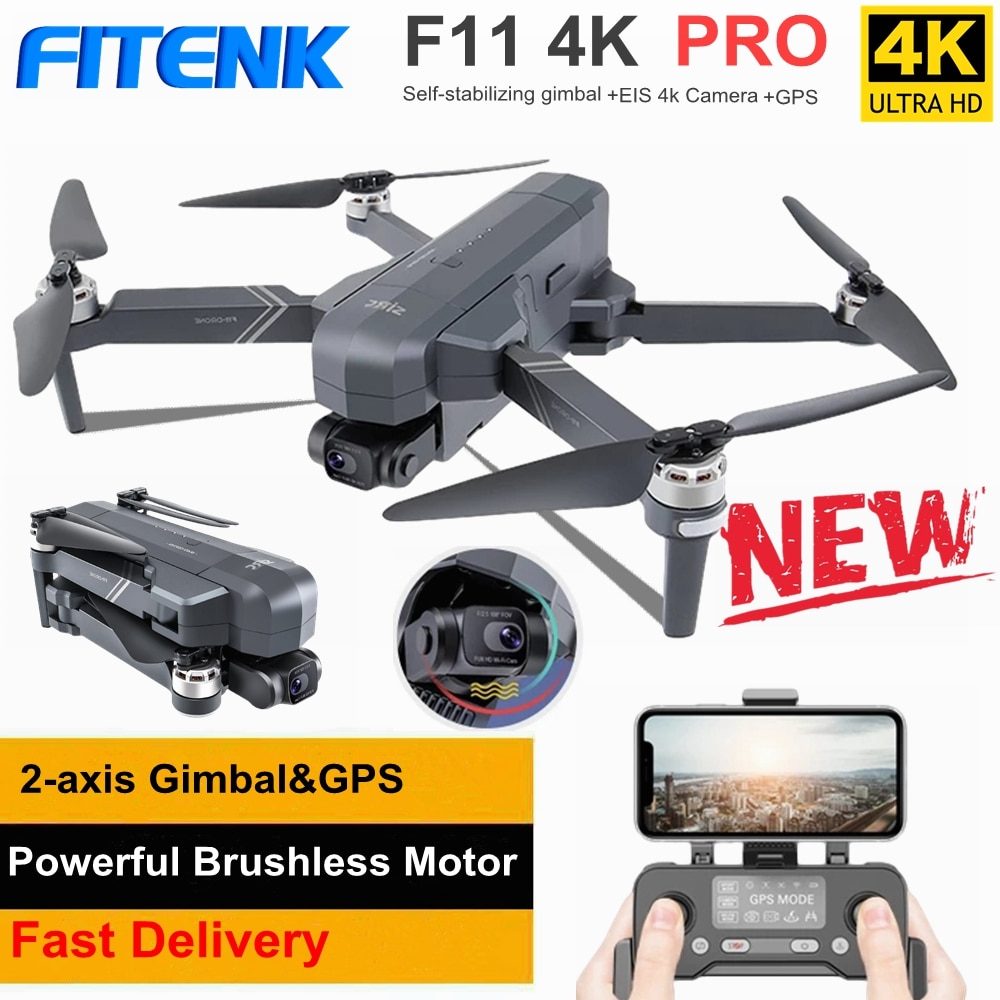 SJRC F11 PRO-Dron Profesional con GPS, 5G, Wifi, FPV, 4K, cámara HD,...