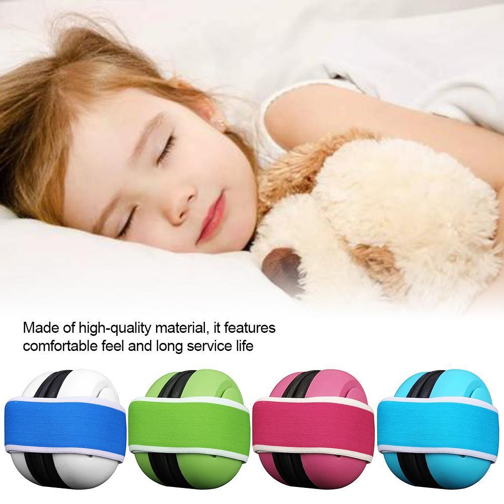 Orejeras insonorizadas para bebés protección infantil a prueba de ruido orejera protectora para la reducción del ruido del sueño auriculares para el cuidado del bebé