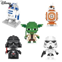 Детские йода 3D строительные блоки Disney
