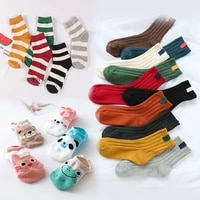 5432pairs multi style cotton cute socks for women autumn winter funny low cut ankle socks short art print casual sox