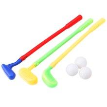 Nieuwe Stevige Mini Golf Sport Game 3 Clubs + 3 Bal Golf Club Speelgoed Outdoor Speelgoed KidsRamadan Festival GiftRamadan Festival gift #30