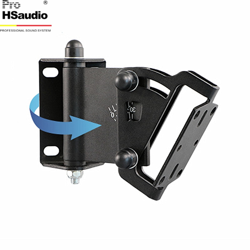 ProHSaudio (2PCS/Lot) Speaker Wall Hanger Conference Thickened Style Home Audio Stand,Max Load Capacity 30KG