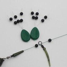 Paquet de 3 perles de Chod hélicoptère plates-formes perles pour plate-forme de carpe Zig plate-forme système de sécurité Chod carpe pêche accessoires ensemble
