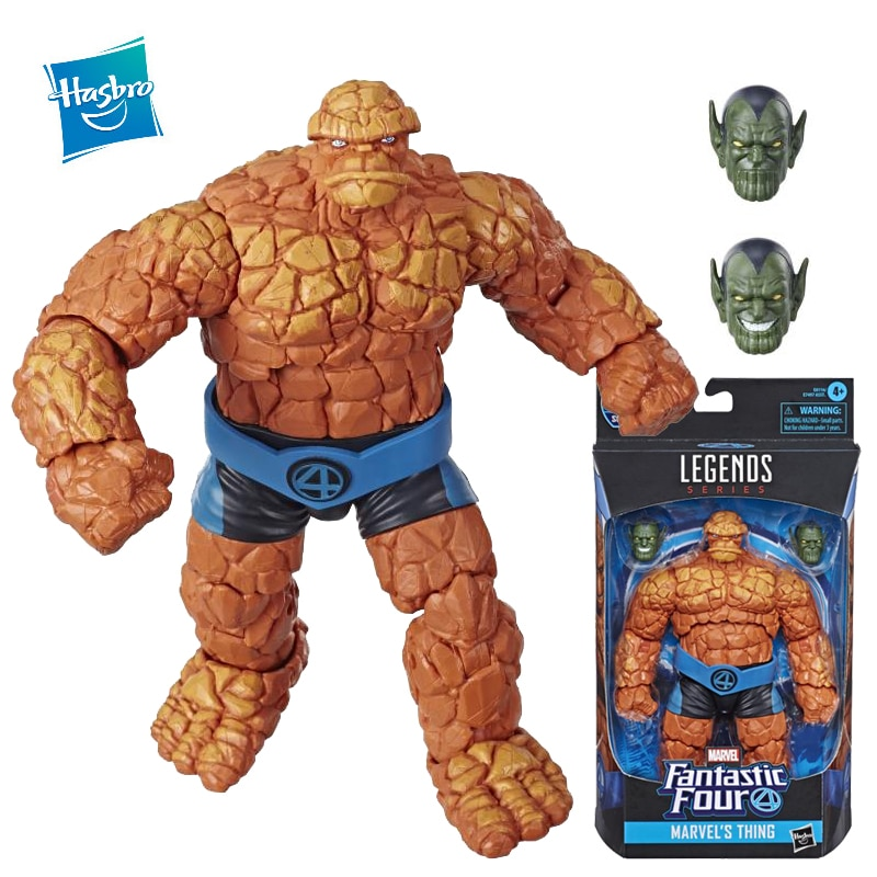 Hasbro Marvel Legends Anime Figure 6 Inches Thing Action Figure 16Cm Ben Grimm Toys Model Adult Children Toys Gift Collectable