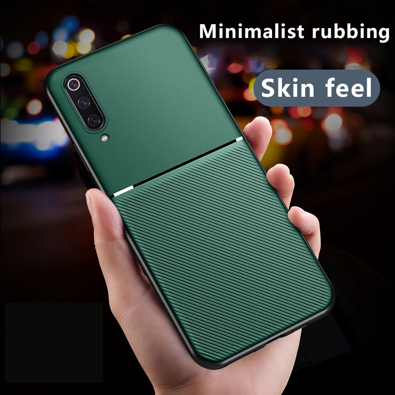 Роскошный силиконовый автомобильный магнитный держатель для телефона xiaomi redmi note 8 7 5 Pro 8t 8a 7a k30 k20 pro ультратонкий защитный чехол