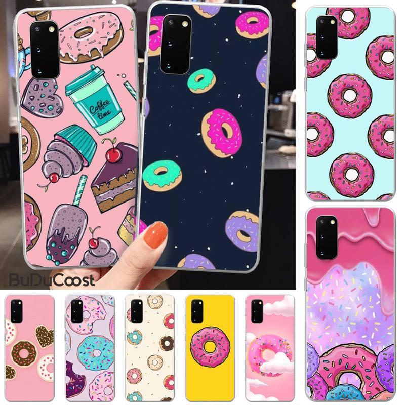 Funda de teléfono de alta calidad para el cliente Jomy Donuts para Samsung S5 6 7 8 9 10 S8 S9 S10 plus S10E lite S10-5G S20 UITRA plus