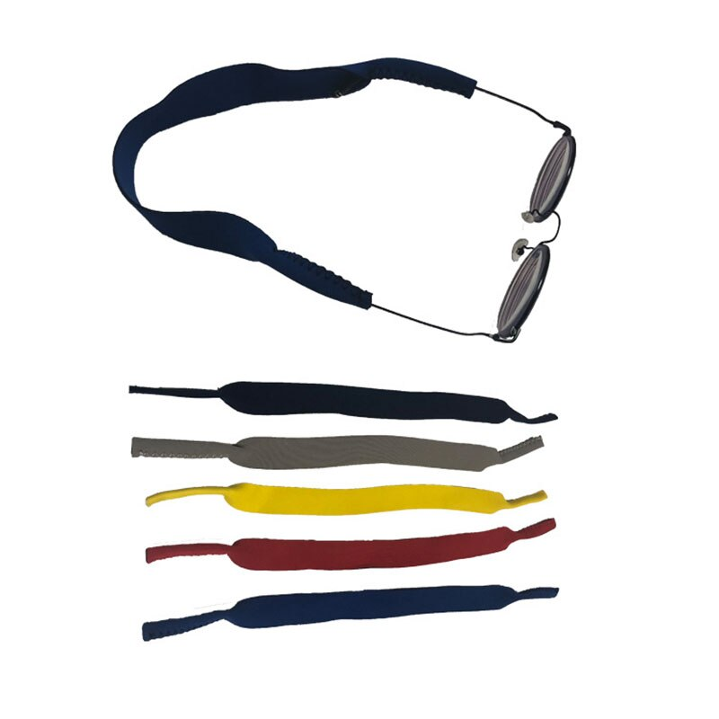 Glasses Strap Spectacle Glasses Stretchy Sports Band Strap Adjustable Antiskid Belt Fixed Glasses For Outdoor Sports Running