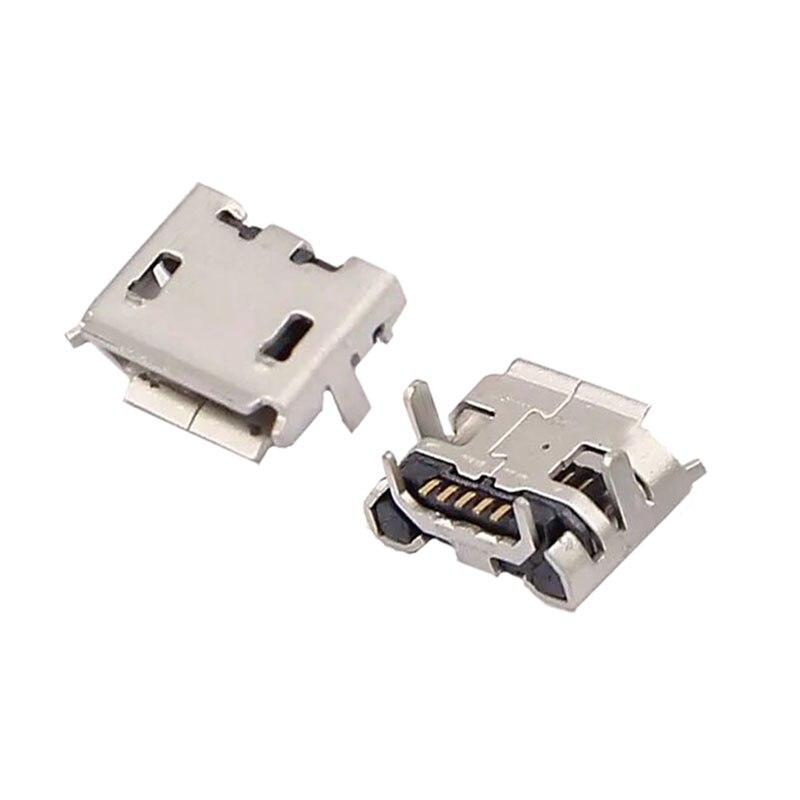 Cargador USB Mini T100HA T100H, 100 Uds., conector de puerto de carga...