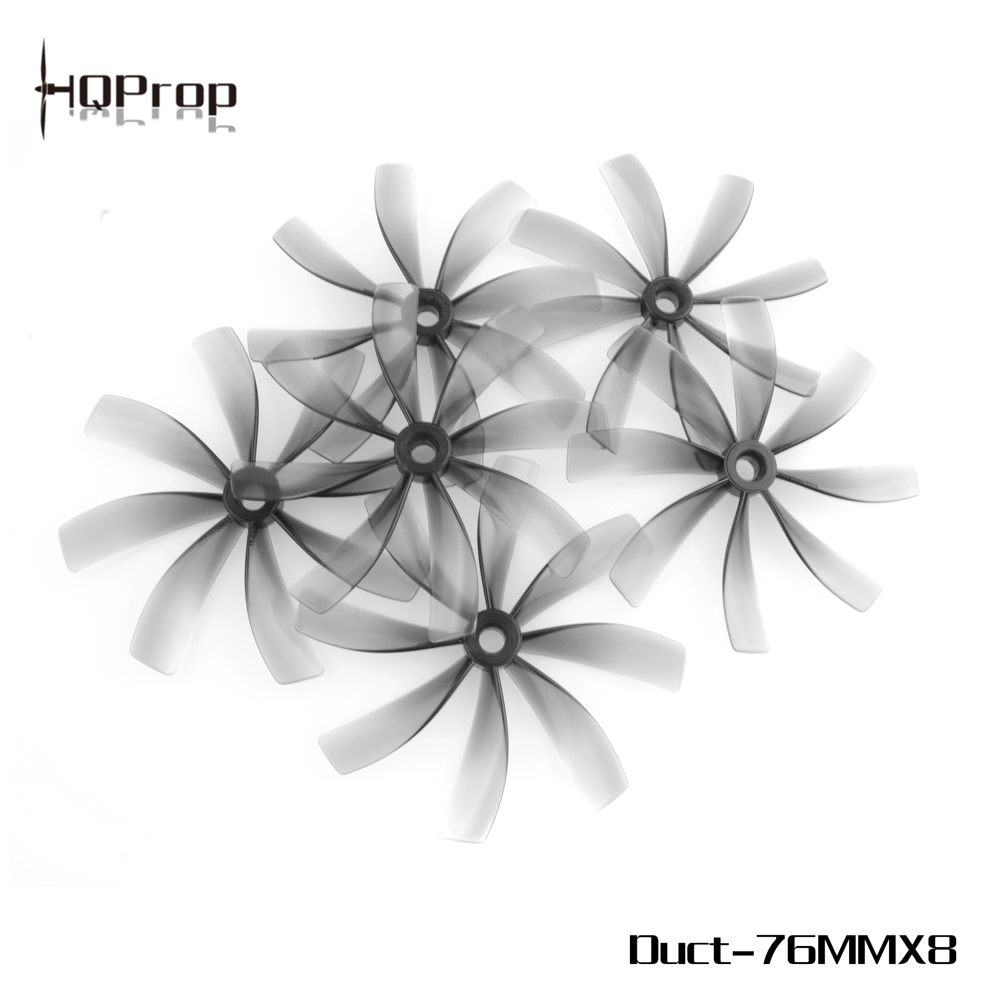 HQPROP 76MMX8 76mm 8-Blade PC Propeller for RC FPV Racing Freestyle 3inch Cinewhoop Ducted Drones Replacement DIY Parts