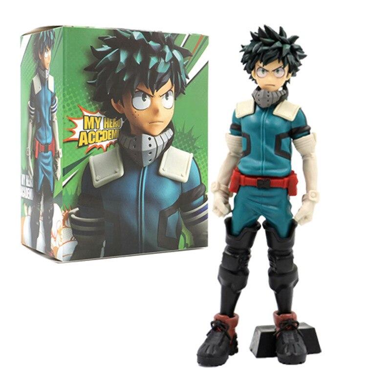 Figura de Anime Deku figuras de acción My Hero Academia figura 25CM Midoriya Izuku figurita PVC juguetes de modelos de colección decoración de escritorio