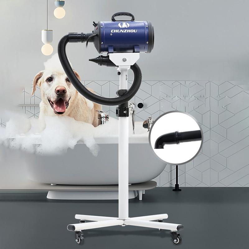2200w pet secador de cabelo titular rack conjuntos gato cão grooming ventilador 220v 110v motores secador asciugatrice suszarka plugue profissional
