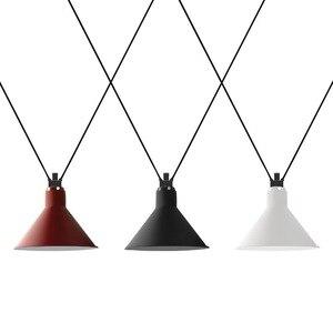 Ins Creative Geometric Line DIY Metal Suspension Lighting For Bedroom Bedside Chandelier LED  Pendant Hanging Light AC85-265V