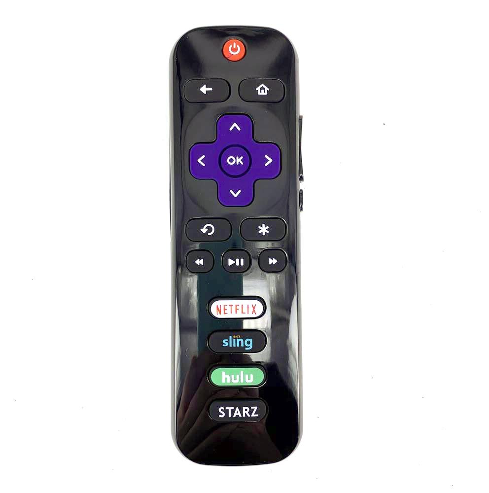 Nuevo reemplazo para TCL Roku TV Control remoto con NETFLIX Sling Hulu STARZ aplicaciones 32S305 49S405 50FS3800 32S3800 fp43110