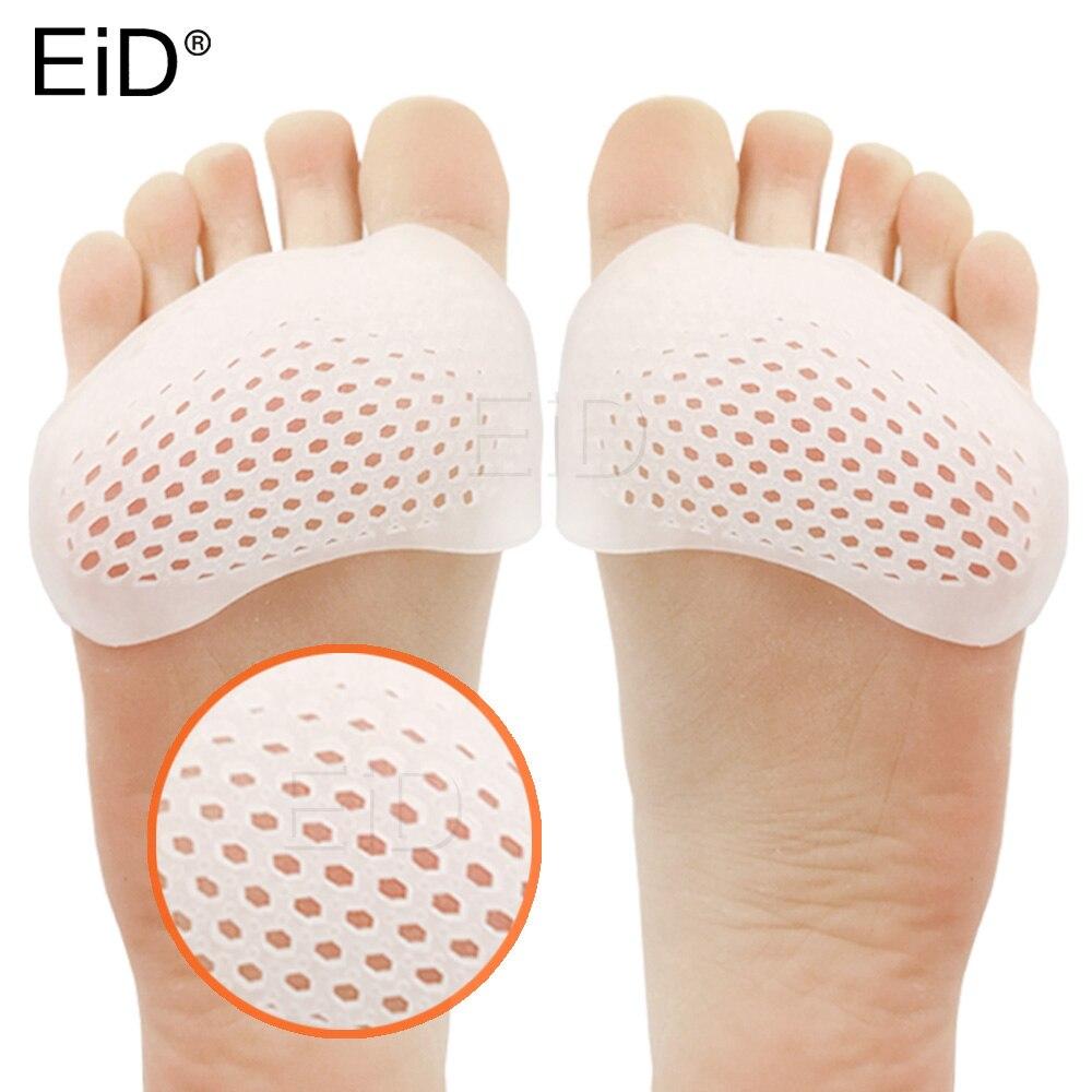 EiD Silikon Einlegesohlen Vorfuß Pads für Frauen Hohe Ferse Schuhe Fuß Blister Pflege Zehen Einfügen Pad Honeycomb Gel Einlegesohle Schmerzen relief