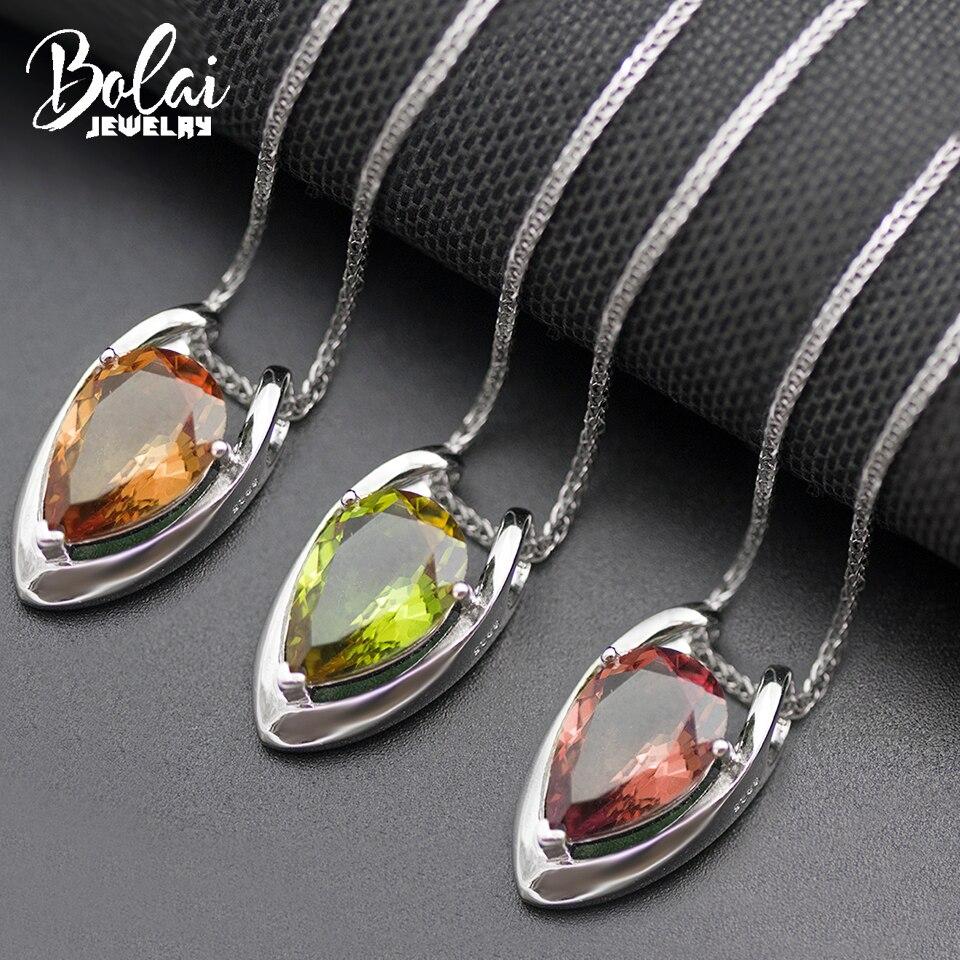 Bolai V form farbe ändern diaspore anhänger halskette echt 925 sterling silber zultanit edelstein edlen schmuck für frauen 11,11