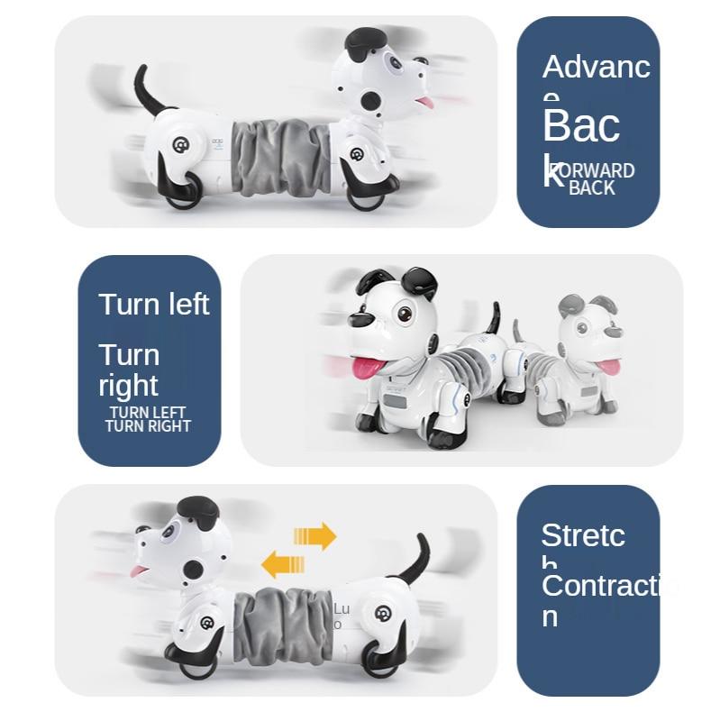2021 New Remote Control Smart Robot Dog Programable 2.4G Wireless Kids Toy Intelligent Talking Robot Dog Electronic Pet kid Gift enlarge