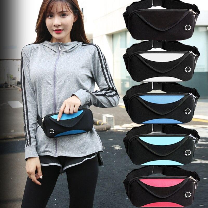 Сумка для бега для мужчин и женщин, Водонепроницаемая спортивная сумка для бега на талии, сумка для фитнеса, тренажерного зала, сумка для бег...