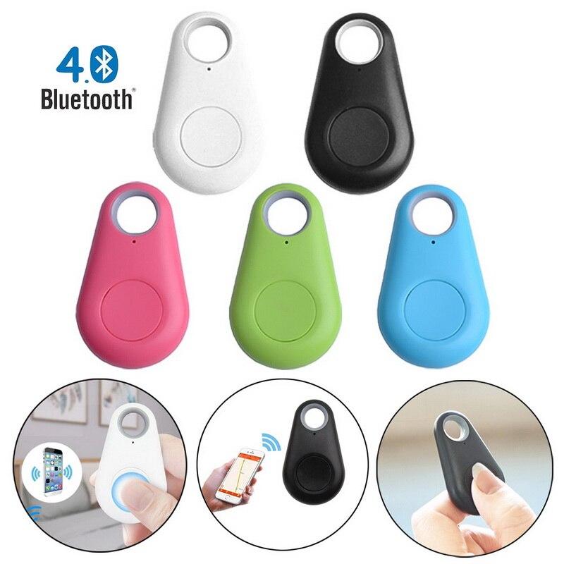 Mascotas Smart mini dispositivo de seguimiento GPS Anti-impermeable Bluetooth llaves de mascotas cartera bolsa para niños rastreador localizador equipo