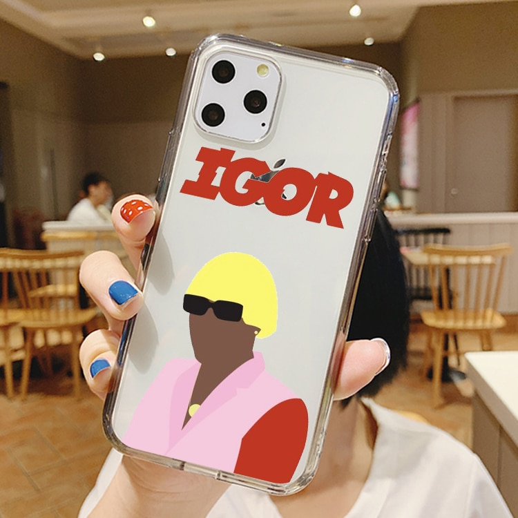 Funda de silicona de moda Golf Tyler the creator igor album para iPhone 11 Pro MAX Xs 8 7 6S Plus XS XR 5S