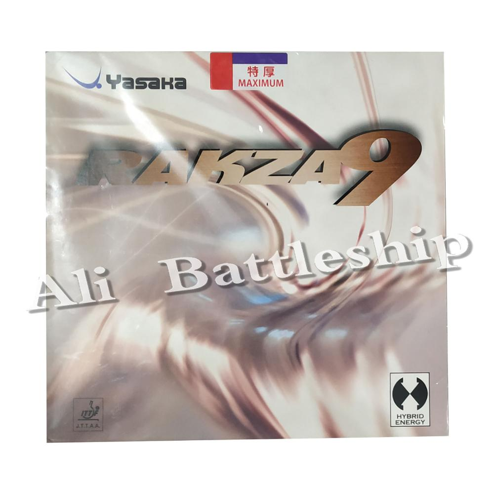 Original Yasaka RAKZA 9 RK9 B-80 table tennis rubber table tennis rackets cake sponge racquet sports indoor sports