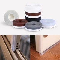 door bottom self adhesive rubber seal sweep strip weather stripping silicone