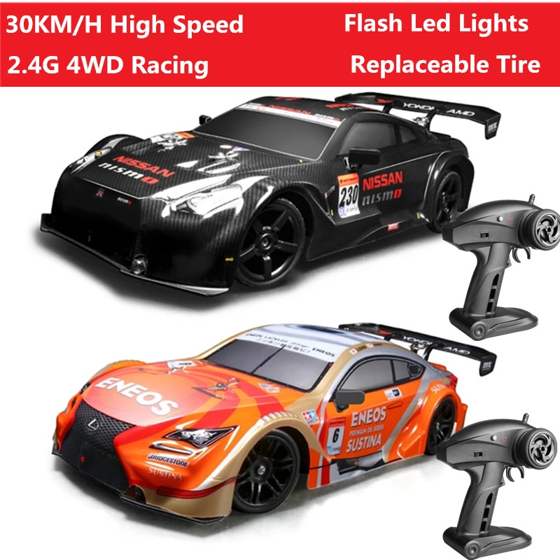 2.4G Bigfoot RC Racing Car 30KM/H Car Vehicle With Replaceable Tire shock-absorbing Independent Shockproof Flash Light Best Toy
