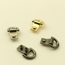 (10 pieces / lot) luggage hardware accessories D buckle bag hook on both sides of shoulder strap