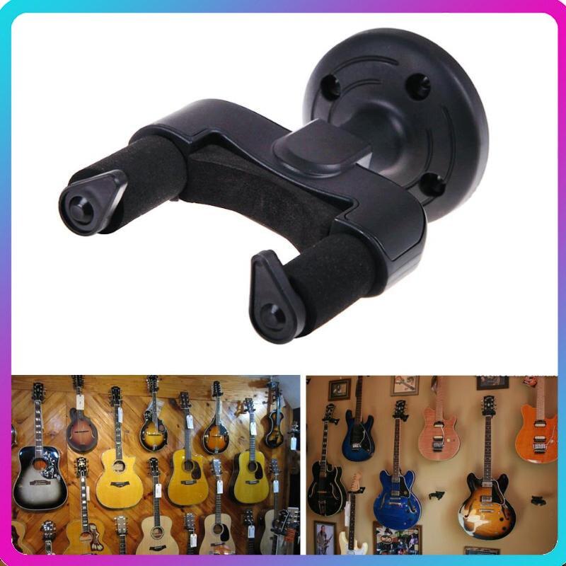 Colgador de pared para guitarra eléctrica, soporte de pared para guitarra, soporte de gancho, soporte Universal para guitarras de todos los tamaños, gancho de pared para ahorro de espacio