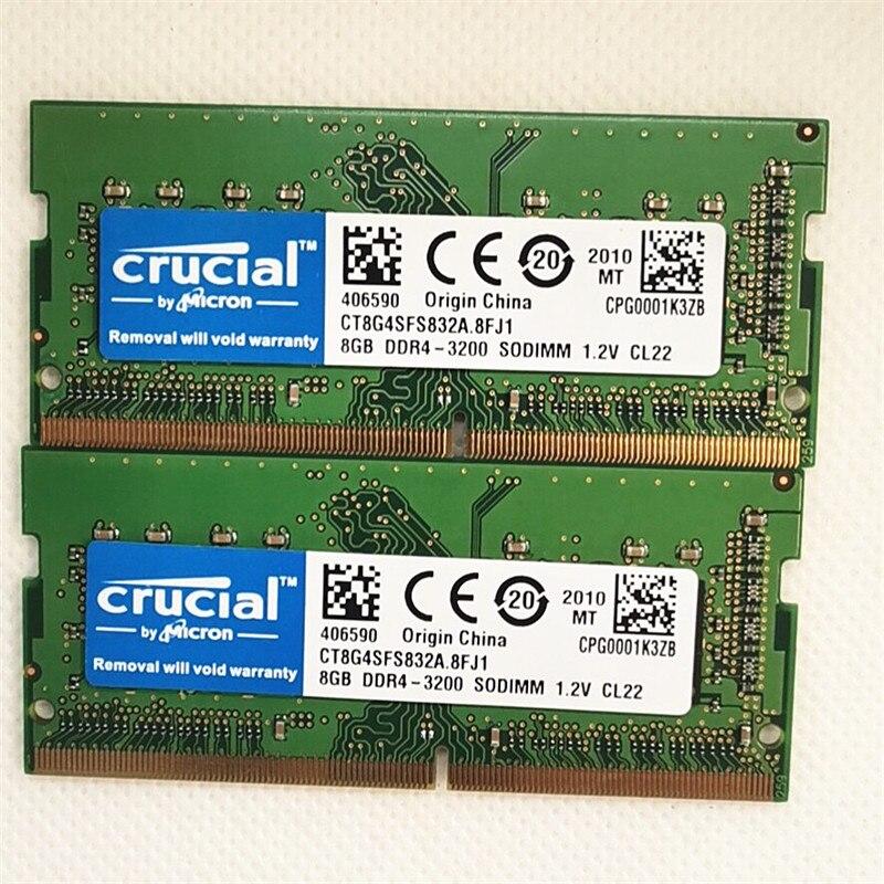 حاسما RAMS DDR4 8GB 3200 SODIMM 1.2 فولت ذاكرة الكمبيوتر المحمول DDR4 8GB 3200MHz 260PIN دفتر ميموري ddr4 8gb 3200