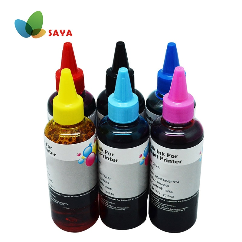 Чернила для принтера HP 363 177 02 801 картридж для заправки и СНПЧ чернила для HP 3110 3210 3310 8230 C5180 C6180 C6280 C7160 C7180