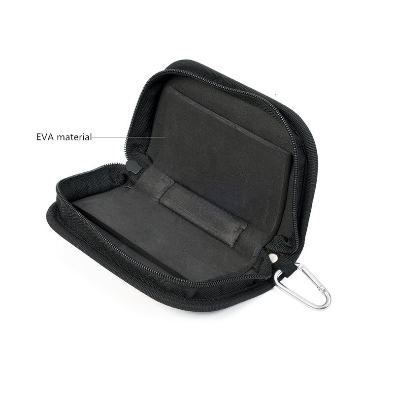Portable Fishing Bag Fishing Lure Container Bag for Spoon Lure Large Capacity Canvas Zipper Storage Case Fishing Tackle Pesca enlarge