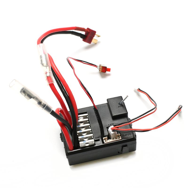 New Version Receiving Board V2 2.4G Remote Controller 12428-0343 for WLtoys 12428 12423 12427 RC Car Spare Parts L4MC enlarge