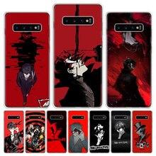 Persona 5 P5 Telefoon Case Voor Samsung Galaxy A51 A71 A50 A70 A80 A90 A01 A6 A7 A8 A10 A10S a20S A20E A30 A40 Plus Cover