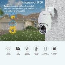 Caméra dôme sans fil 30 Led 2 millions caméra étanche 360 caméra panoramique caméra de Surveillance extérieure