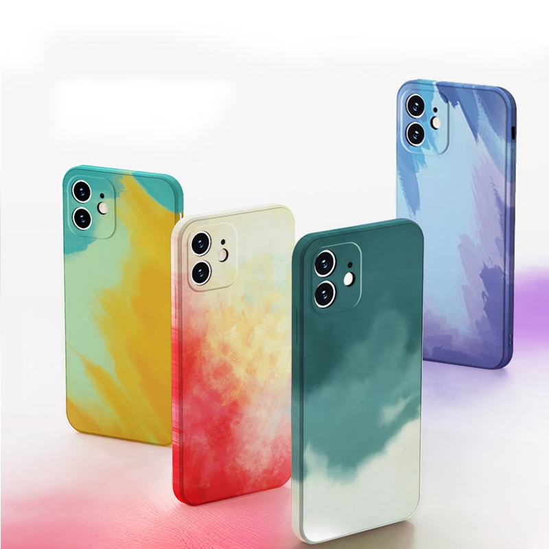 Official Original Silicone Luxury Case For Apple iPhone 11 12 Pro Max Mini SE 2020 X XR XS Max 7 8 P
